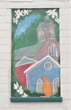 Little's mural Nashville street art