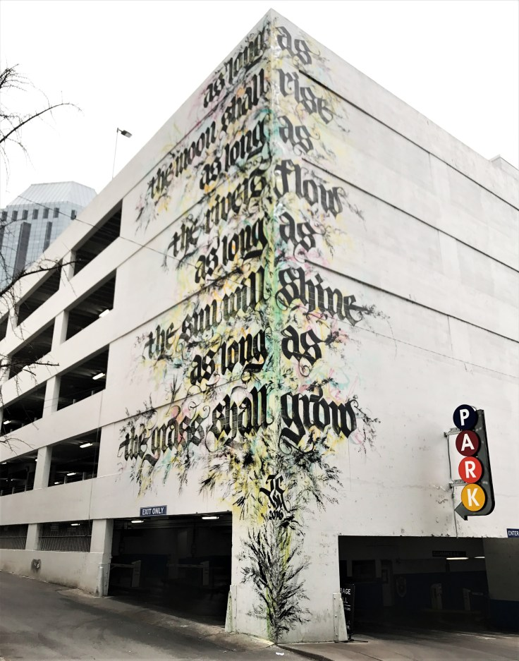 Meulman mural street art Nashville