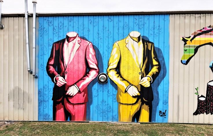 Woodeb Nations mural street art Nashville