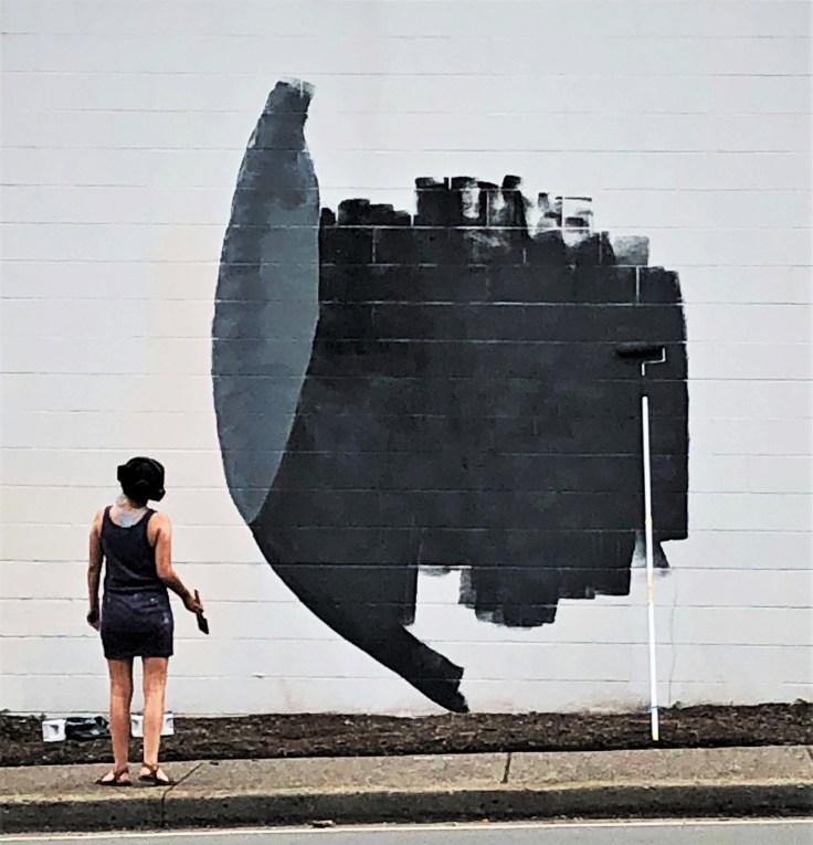 Tess Erlenborn street art Nashville
