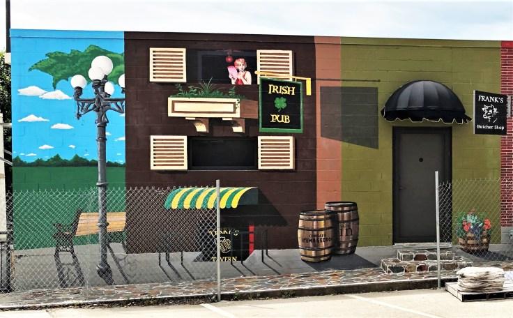 Pub mural street art Nashville