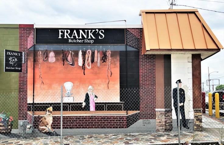 Butcher mural street art Nashville