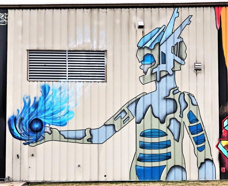 Woman mural street art Nashville