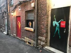 Dancer murals street art Nashville