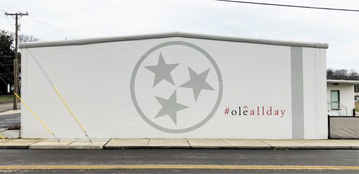 Ole mural street art Nashville