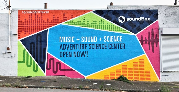 Soundbox mural street art Nashville