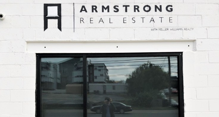 Armstrong Realty Sign street art Nashville