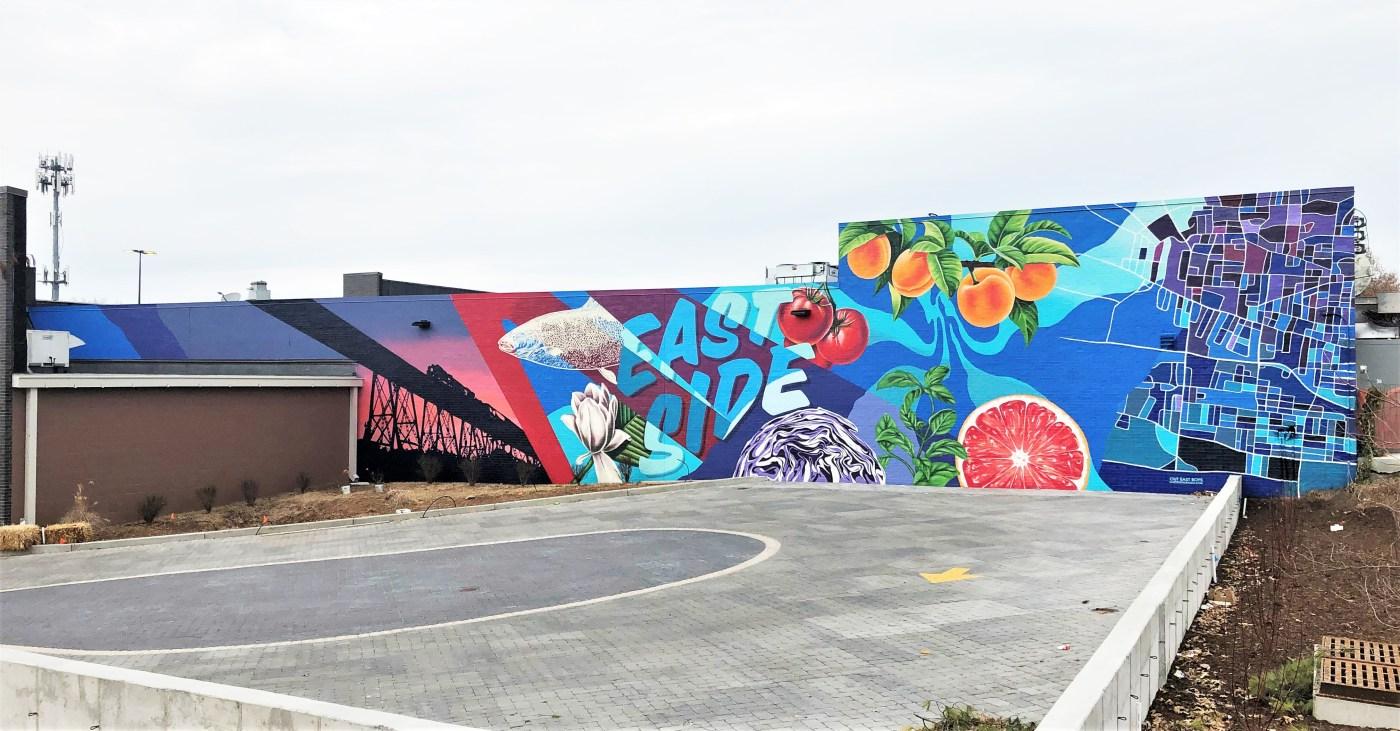 Eastland Kroger Mural street art Nashville