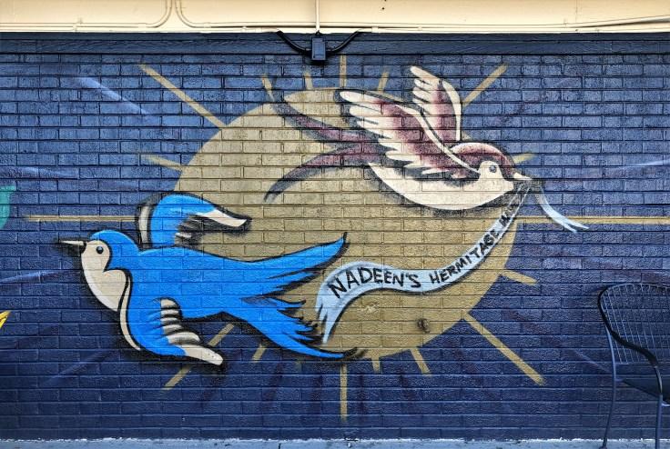 Nadeen's Haven mural street art Nashville