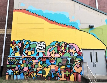 Warner Elementary Mural street art Nashville