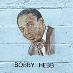 Bobby Hebb mural street art Nashville