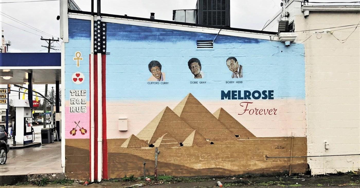 Melrose Forever Mural street art Nashville