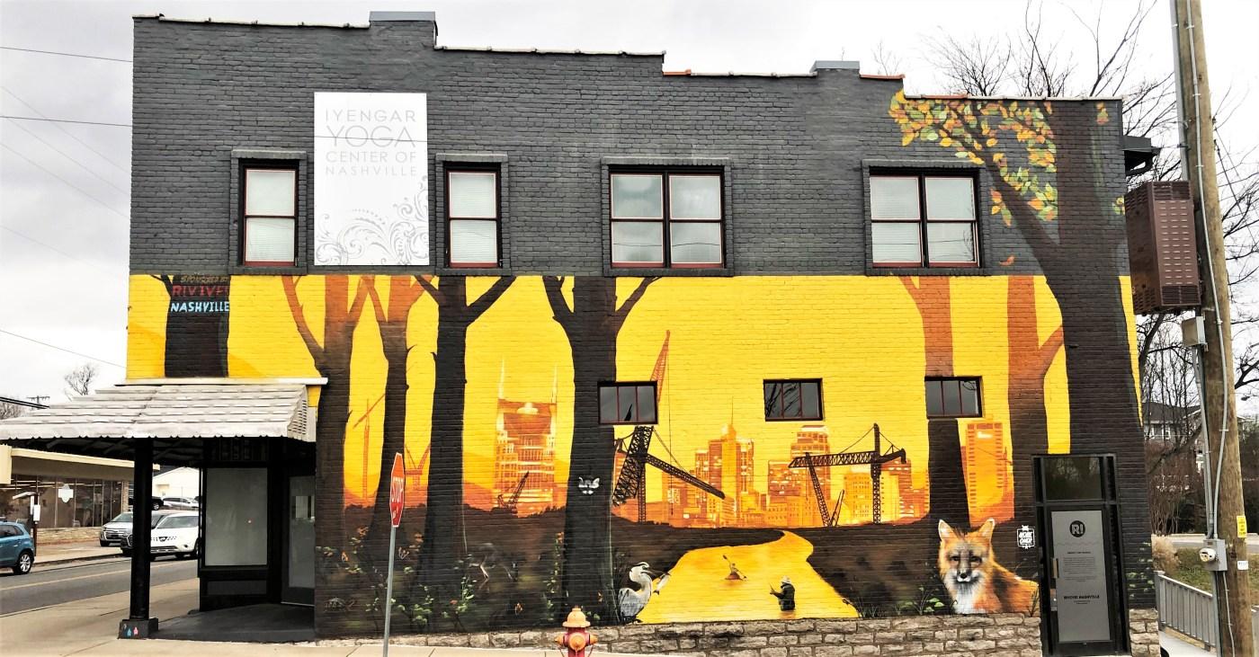 Rivive mural street art Nashville
