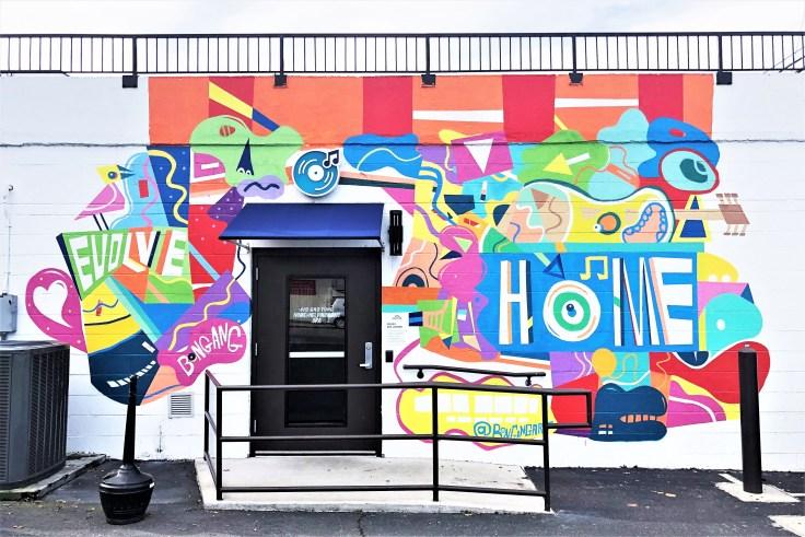 HOME Main Mural street art Nashville