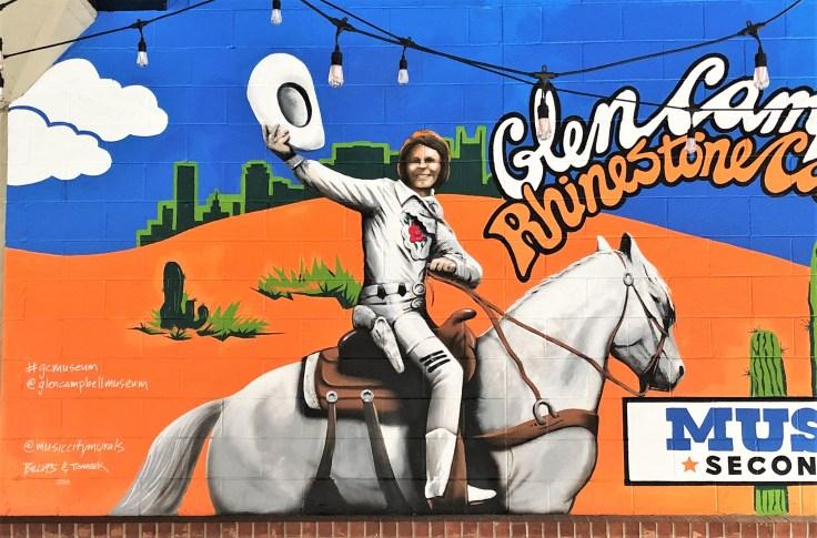 Campbell Mural Nashville street art