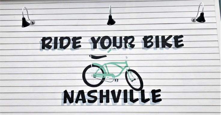 Flipside bike mural Nashville street art