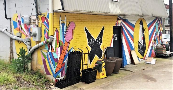 Heartbeat Mural music street art Nashville