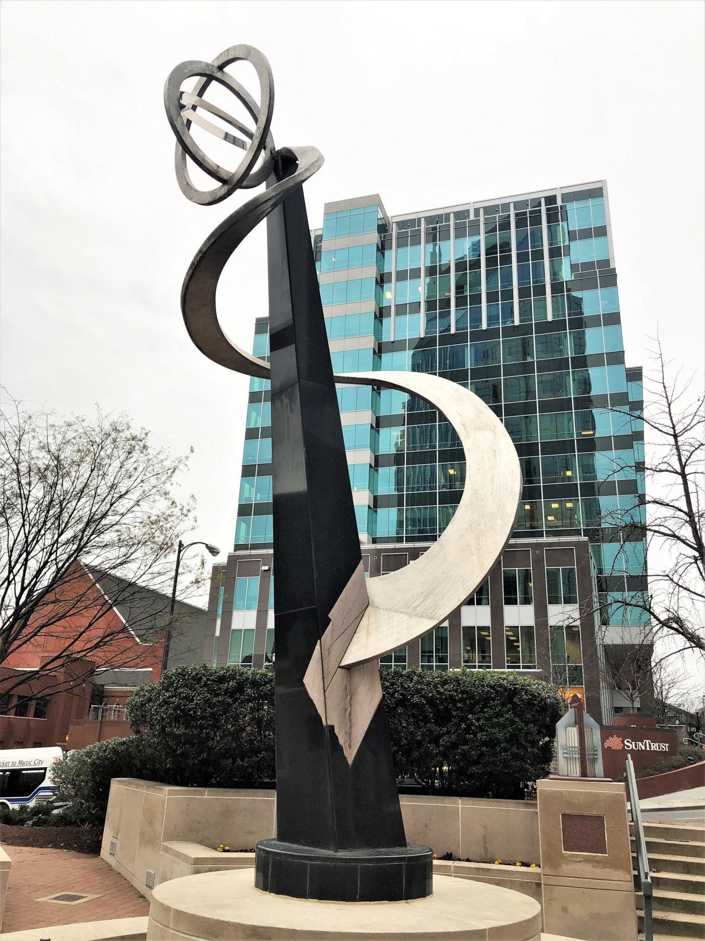 Swensson AT&T Sculpture Nashville street art