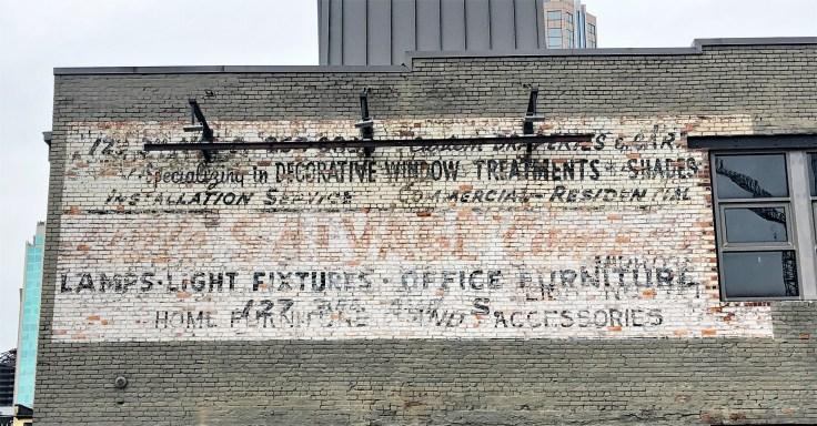 Williams Salvage Sign mural Nashville street art