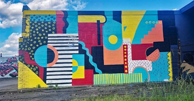 Sanger Mural Nashville street art