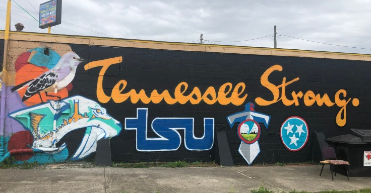Tennessee Mural Nashville street art