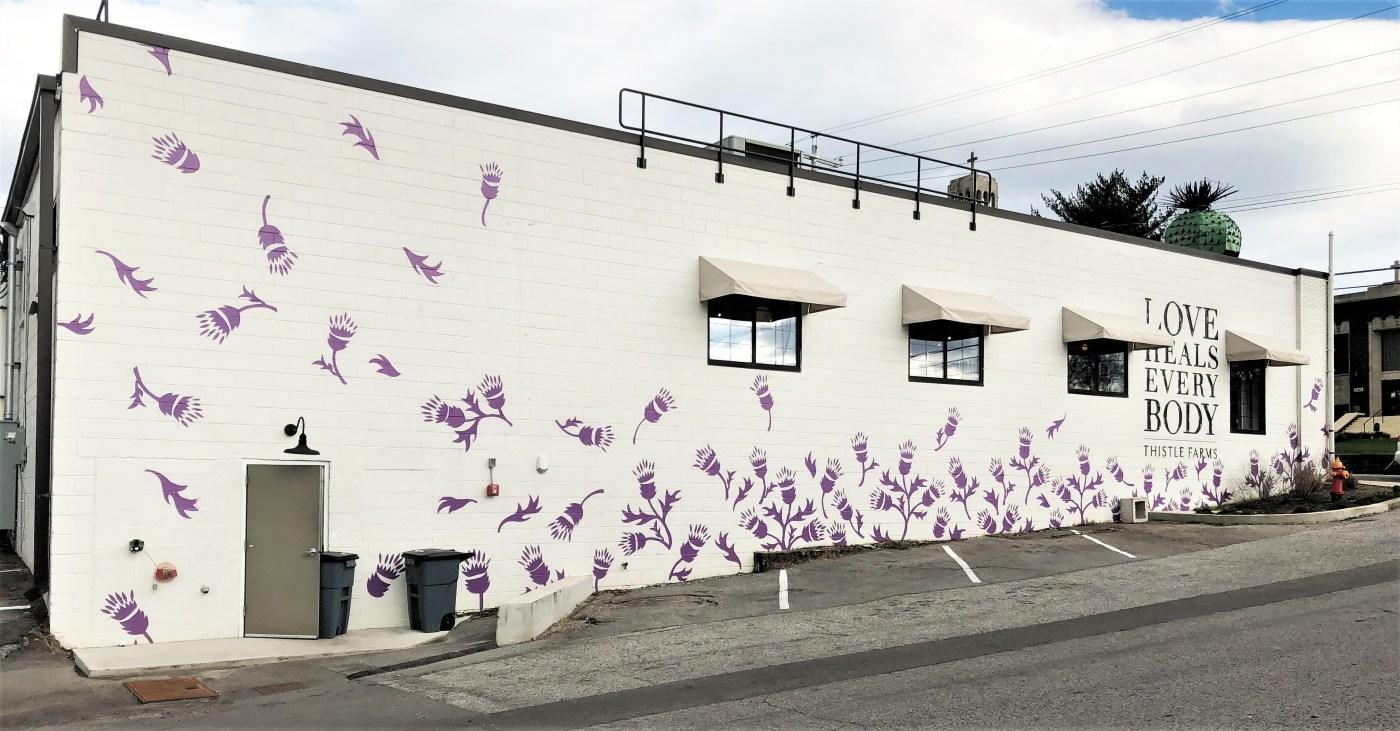 Thistle Farms Mural Nashville street art