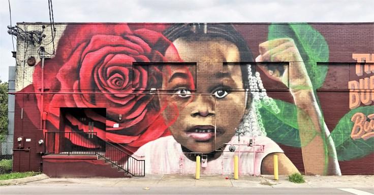 Wynta Mural Nashville street art