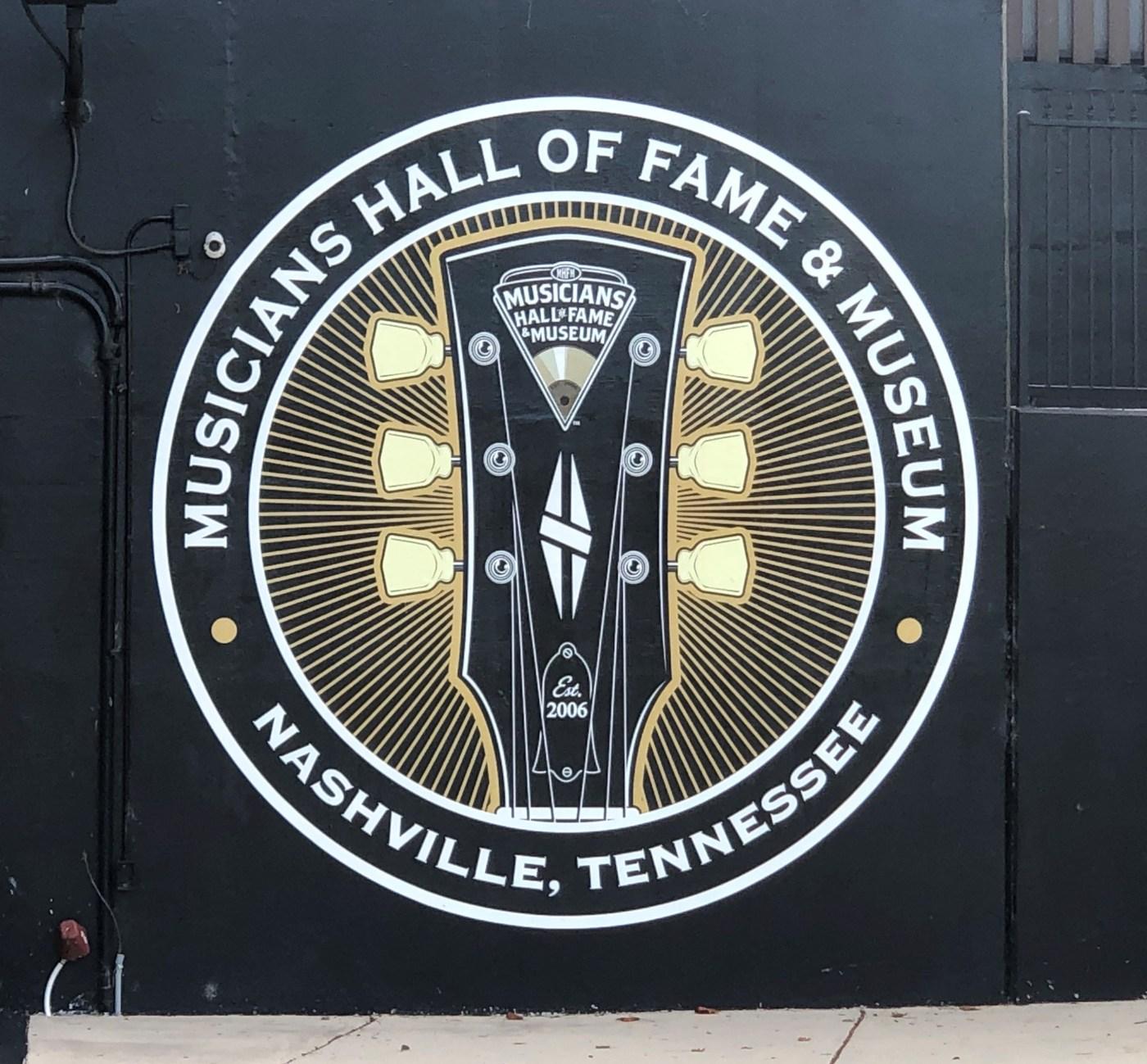 Musicians HOF Mural Nashville street art