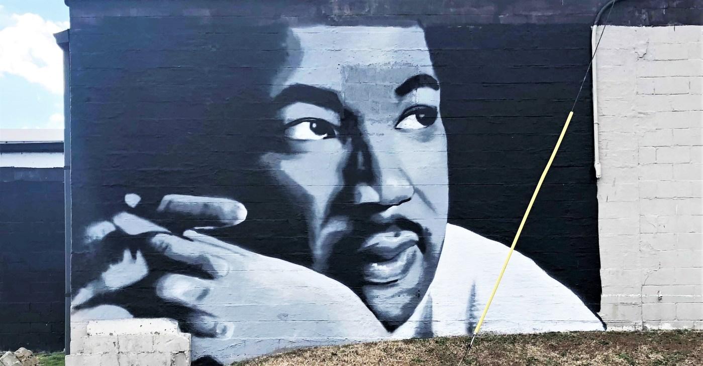 MLK Jr Mural Nashville street art