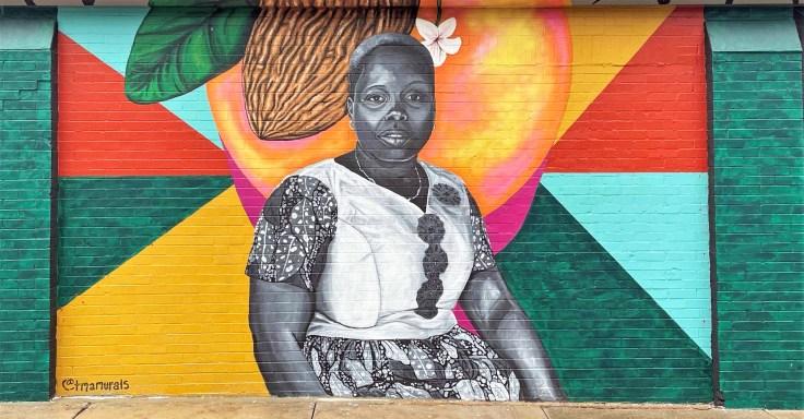 Bekoin Portrait Nashville street art