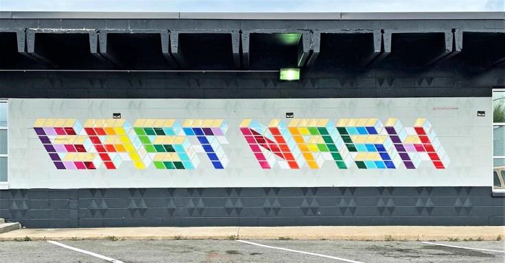 East Nash Mural Nashville street art