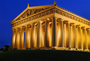 Parthenon-Dusk