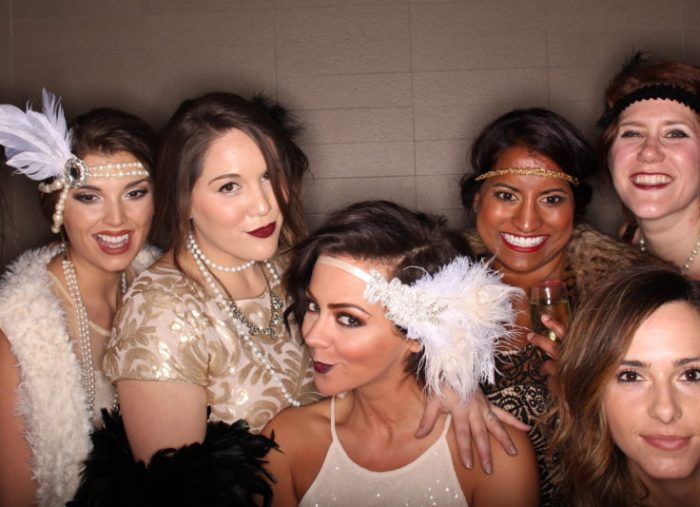 Roaring 20's party photo