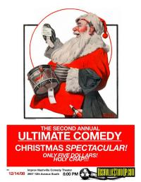 The Second Annual Ultimate Comedy Christmas Spectacular