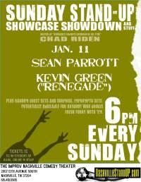 Sunday Stand-up Showcase Showdown And Stuff