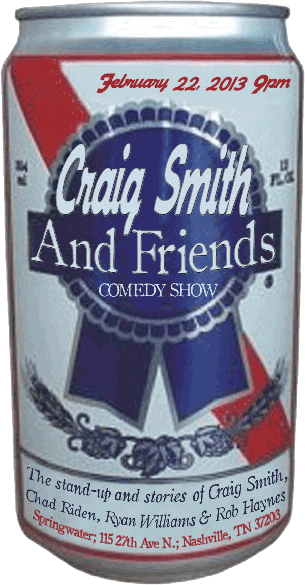 Craig Smith & Friends @ Springwater Feb. 22, 2013