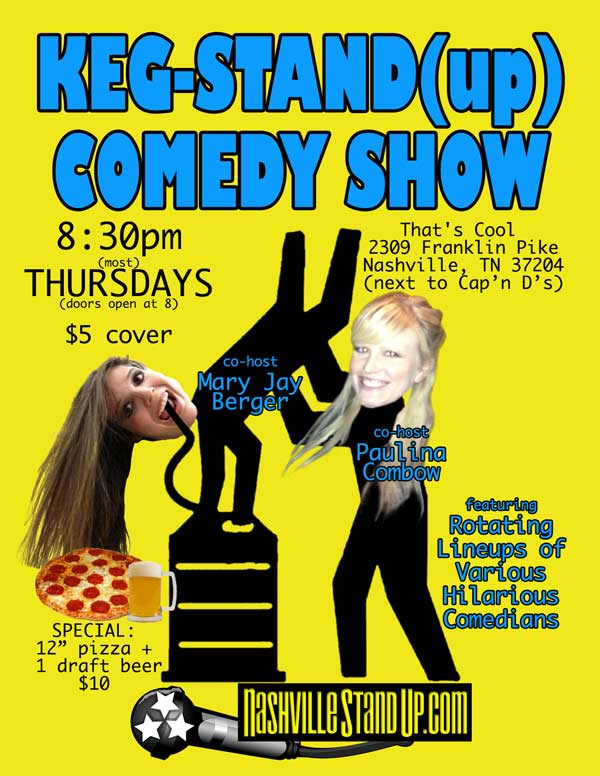 KEG-STAND(up) COMEDY SHOW at That's Cool
