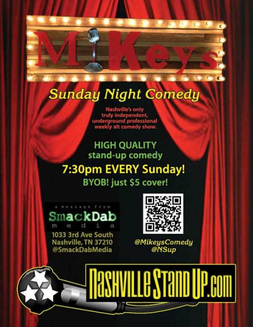 Mikey's Sunday Night Comedy