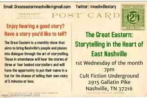 The Great Eastern - 1st wed of every month at Cult Fiction Underground