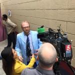 NewsChannel5 talking to Chad Riden