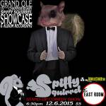 Grand Ole 15th Annual Channiversary Showcase & Album Recording at Spiffy Squirrel stand-up comedy show at The East Room 12/6/2015.