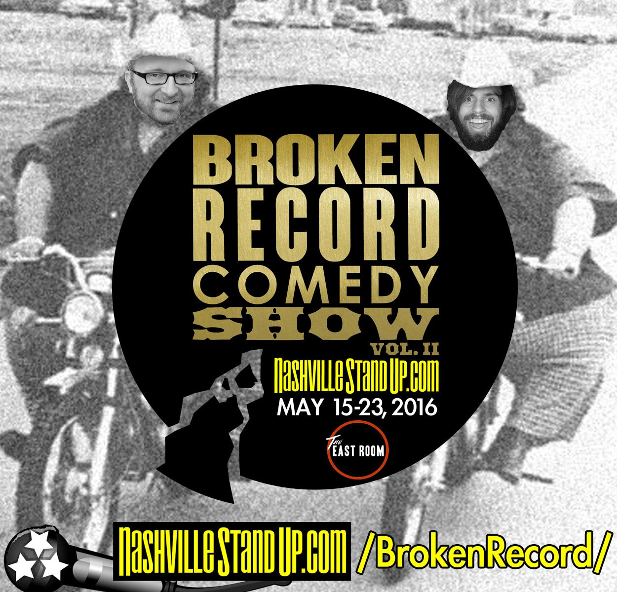 #BrokenRecordShow vol. 2 - May 15-23, 2016 at The East Room