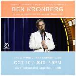 Ben Kronberg at Third Coast Comedy Club Monday 10/10/2016!