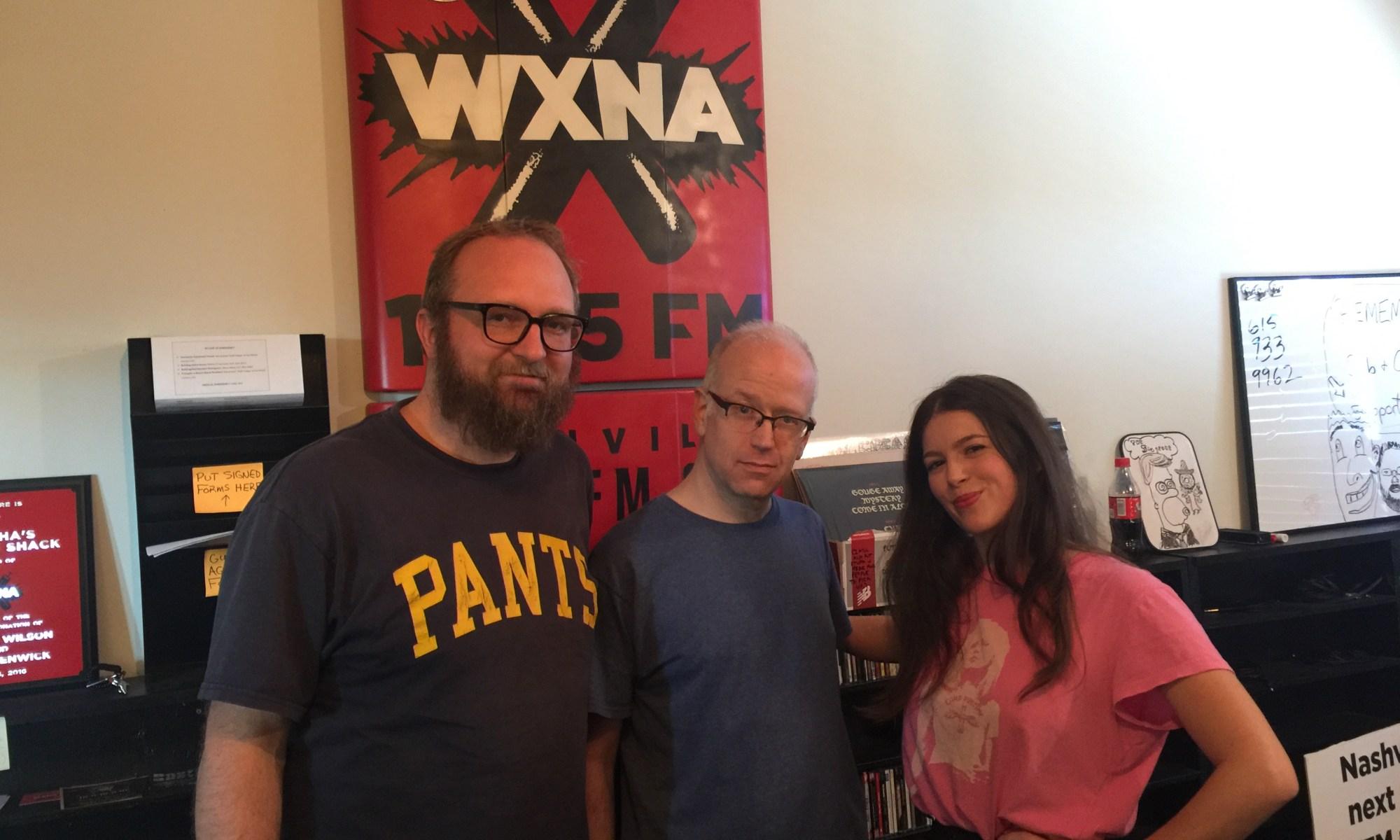 Chad Riden, Michael Buhl, DJ AstroBrooke at WXNA 11/16/12016