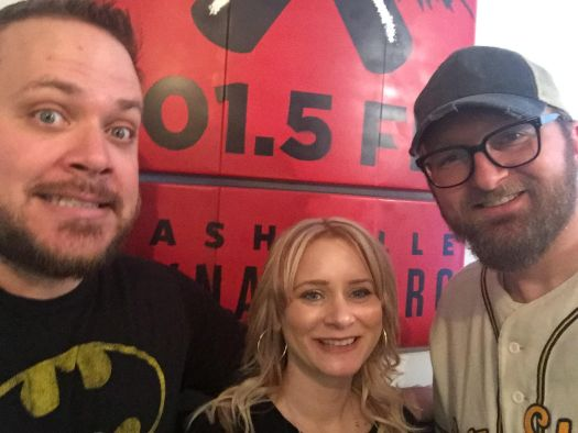 Brad Hinderliter, Ashley Corby, Chad Riden at WXNA 2/1/2017