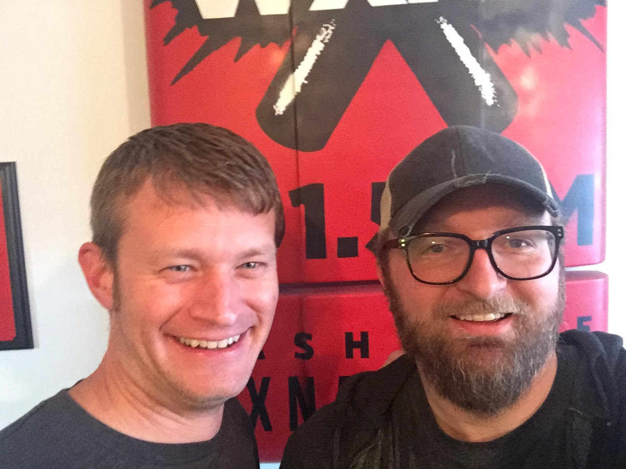 Monty Mitchell and Chad Riden at WXNA 2/8/2017