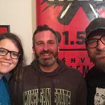 Mary Jay Berger, Ben Sawyer, Chad Riden at WXNA 2/19/2017