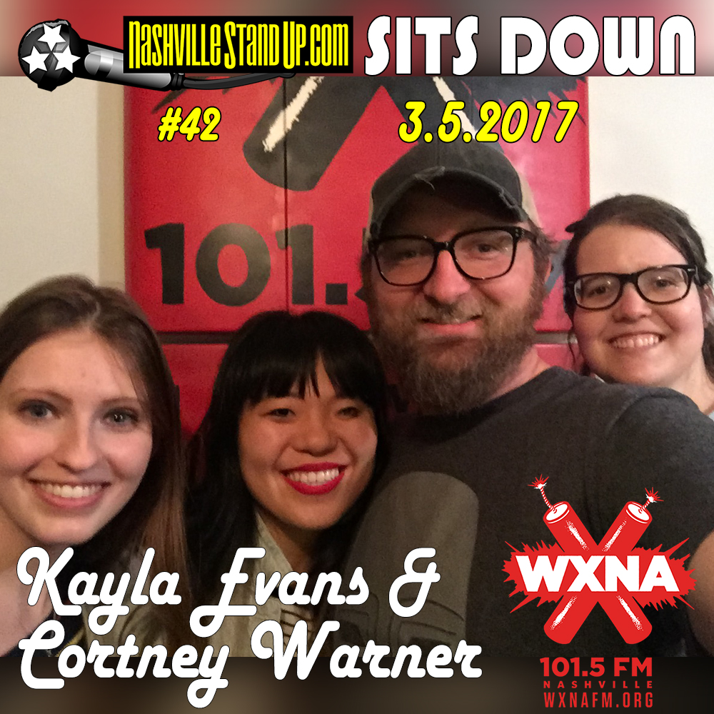 Chad Riden and Mary Jay Berger welcome guestsKayla Evans & Cortney Warner to WXNA