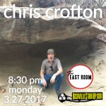Chris Crofton at The East Room 3/27/2017