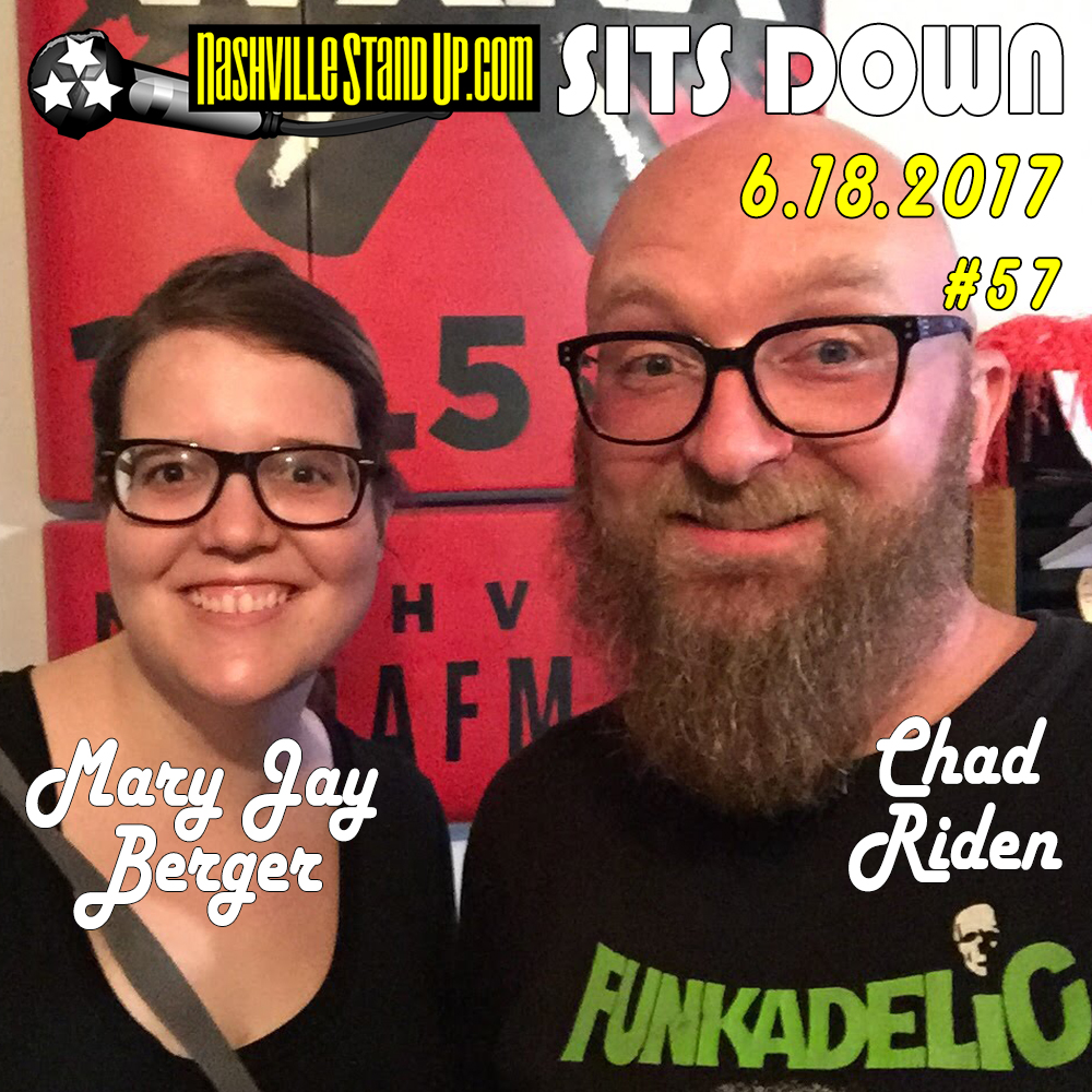 Mary Jay Berger & Chad Riden on NSUPsitsDOWN #57 on WXNA 6/18/2017